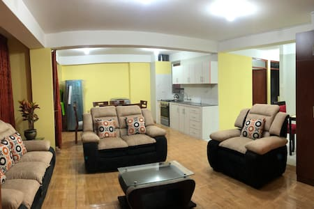 **3 Bedroom Entire Apartment - Huaraz
