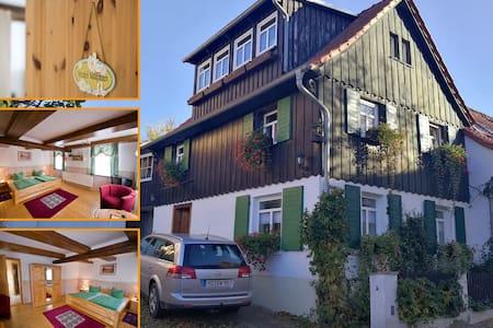 """""""Zur Ellernmühle"""" Ferienwohnung Fichtengrund"""