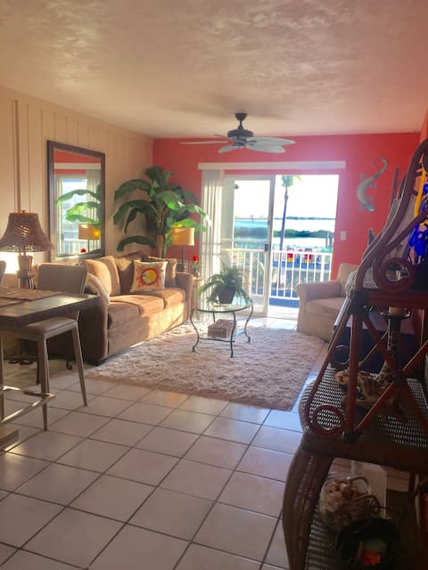 Fish Lips Fun and Funky Waterfront Duck Key condo