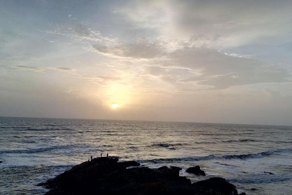 Sunset View at vagator beach
