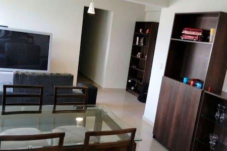 Apartamento CENTRO 1VAGA, Portaria24h, Cama Casal - São Bernardo do Campo - Huoneisto