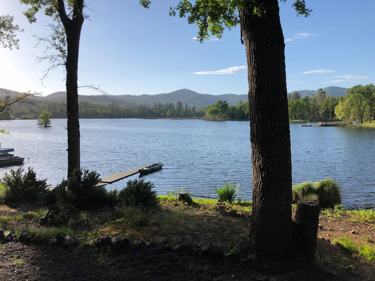 Kayak or fish the lake