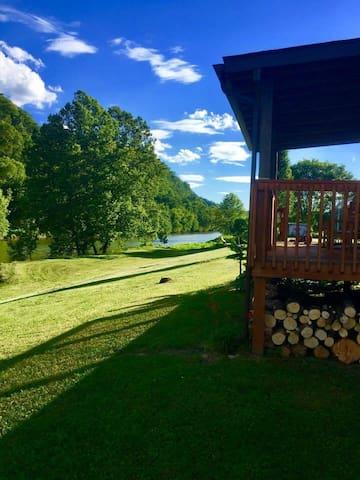 River Sunrise Cabin