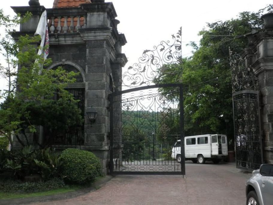 Saint Monique Valais Main Gate
