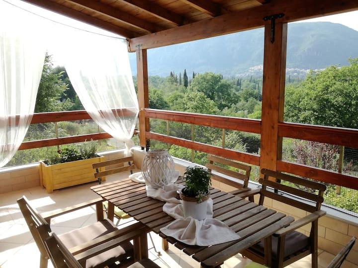 """""""Τhe Stone Villa in Corfu"""" 4-7 persons"""