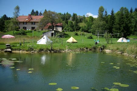 Aire naturelle de camping - Châtelblanc
