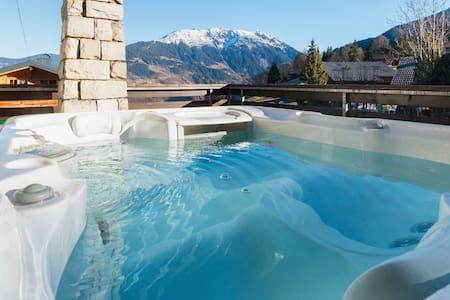Living Montafon - Whirlpool mit Panoramablick