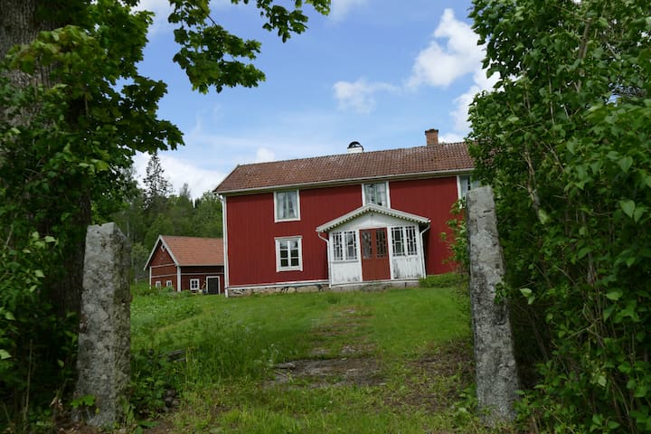 Well preserved forest farm in Småland