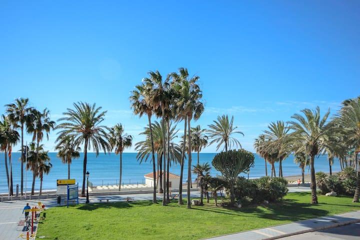 Luxury beachfront property, San Pedro
