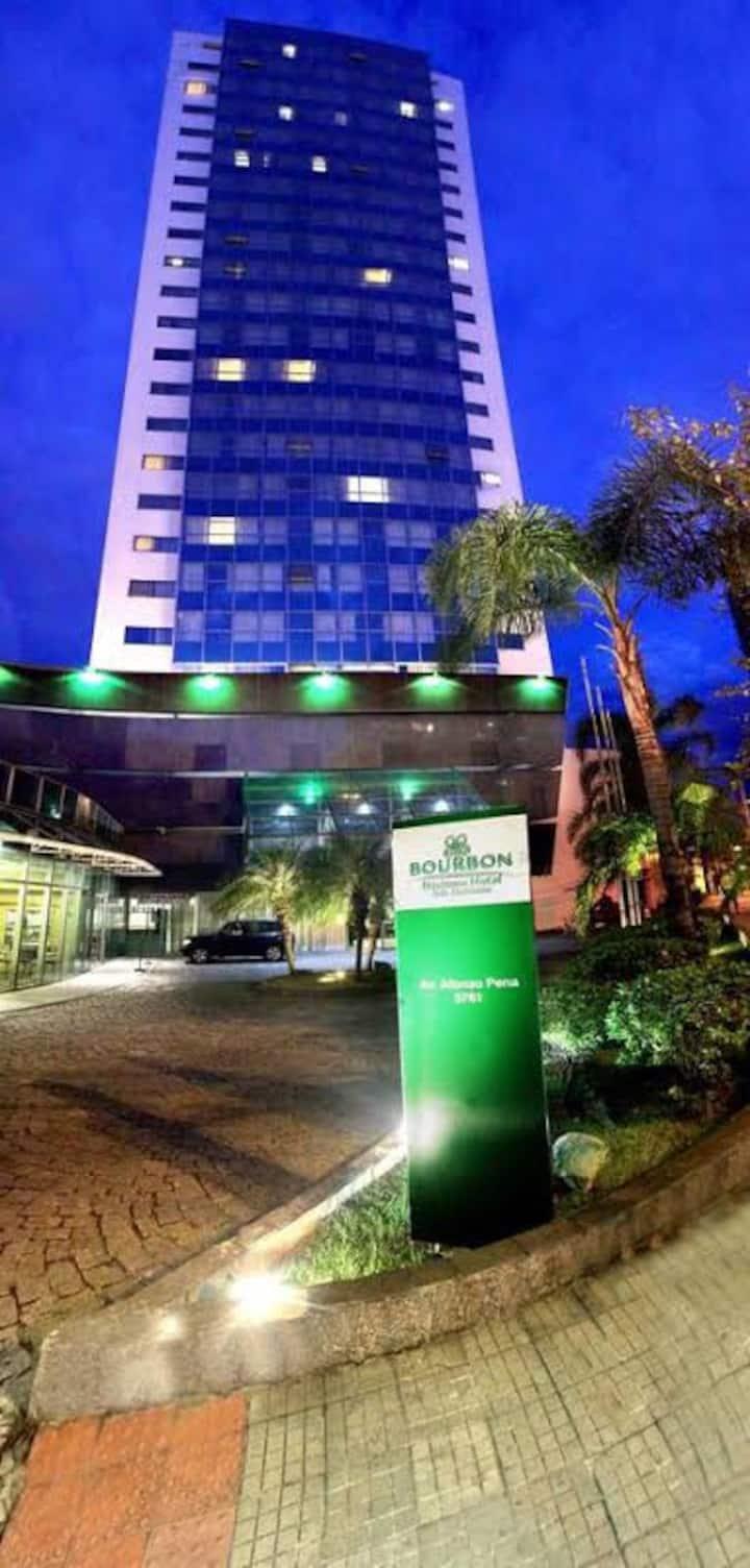 Bourbon Belo Horizonte hotel de luxo