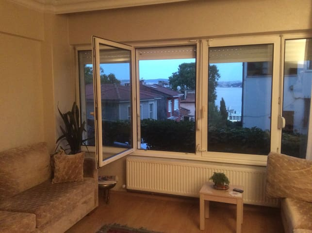 Fully furnished with Bosphorus view - Sarıyer - Byt