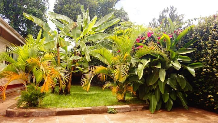 Hidden Gem with Green Oasis Villa House in Kampala