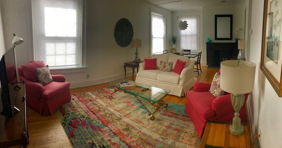 Lovely Mount Vernon Apartment with parking!