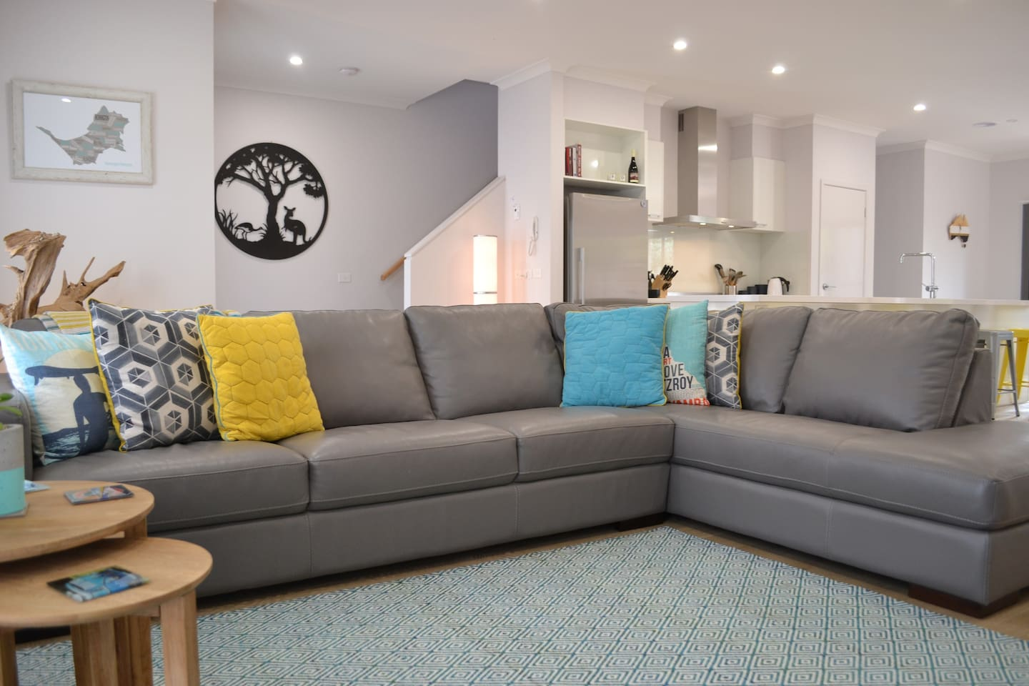 Modern, bright and comfortable air-conditioned living space.