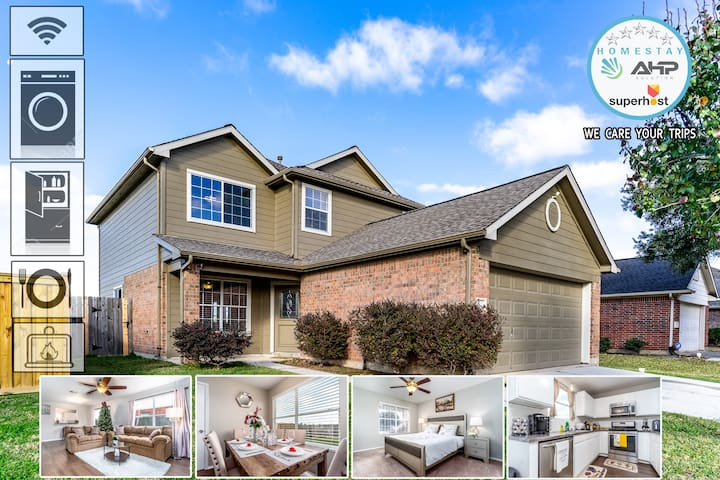 ❤️ ⭐Luxury House  in TOMBALL⭐ ❤️ #25mins IAH