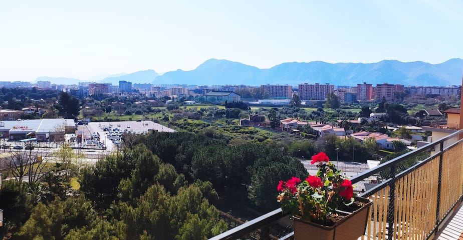 Casa con vista a Palermo