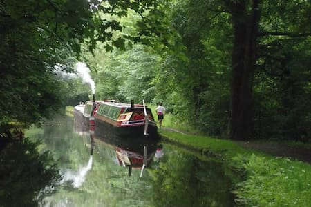 Long Weekend on Peak Forest Canal in Historic Boat - Ashton-under-Lyne - Vene