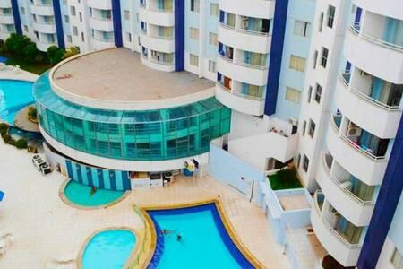 Apartamento no Águas da Serra  Rio Quente