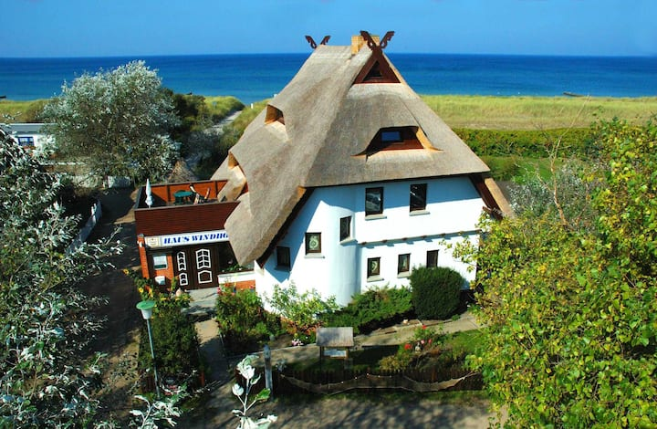 Hotel_Haus Windhook (direkt an der Ostsee), FeWo I-3