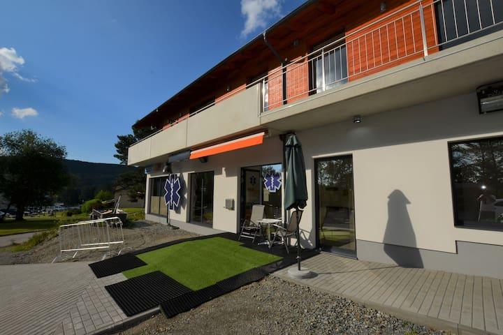Cosy apartment in Lipno, beach: 200m, ski lift: 800m