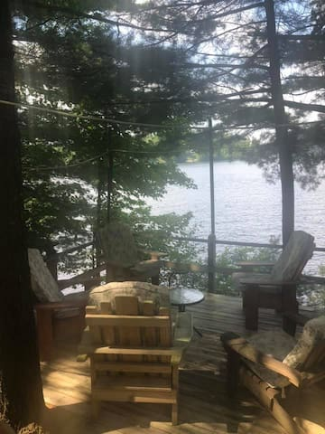 Waterfront Camp upper Higley Flow/Raquette River