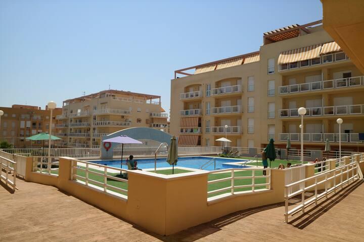 Apartamento en Sabinillas a 2 min de la playa (A)