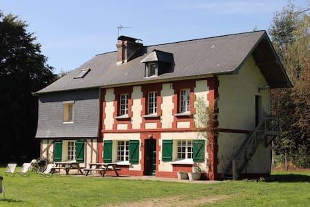 Grande maison 5km Honfleur, 11 pers - Fourneville - Huis