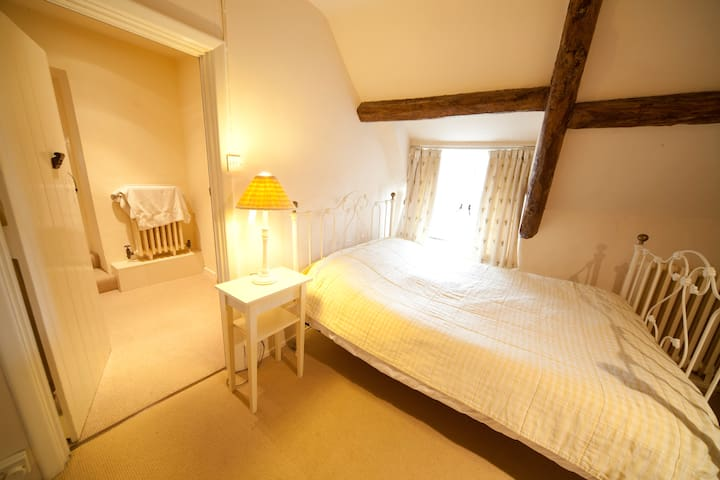 Second bedroom (has a double and a single bed)