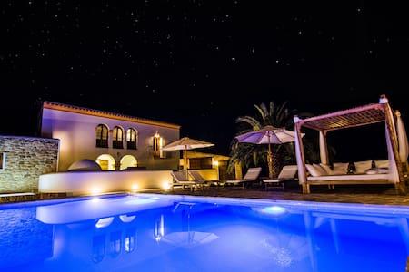 Casa Can Pep Cudulà con piscina, jacuzzi y jardín - Sant Llorenc de Balafia - Talo