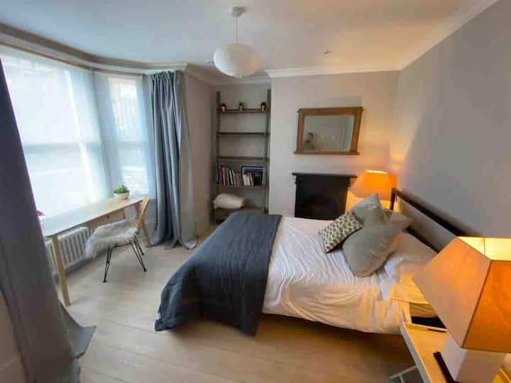 Period Home Double Room Contemporary Finish