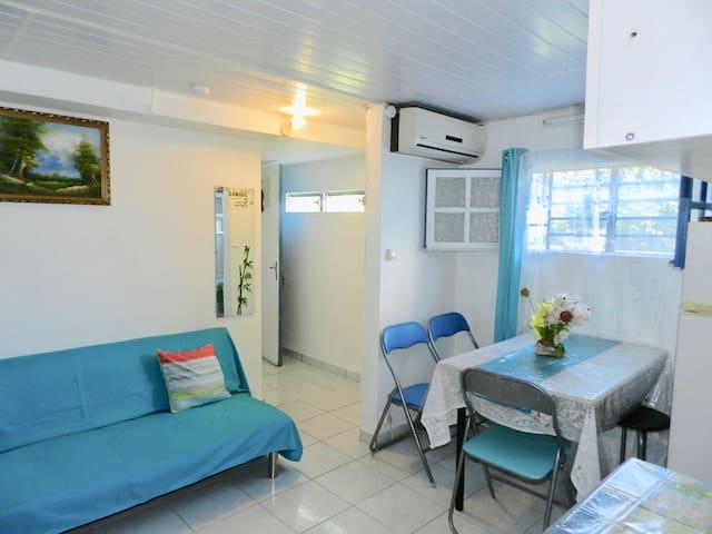 Studio avec coin nuit climatisé FDF - Fort-de-France Bay - Appartement