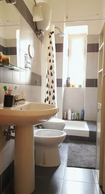 bagno/bathroom (shared with me)