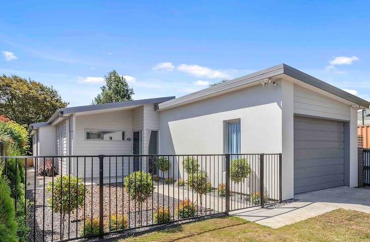 Fully fenced secure modern property with off street parking