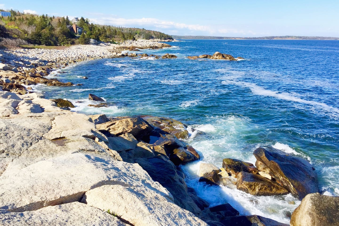 Relax to an amazing view of the ocean and hiking trails