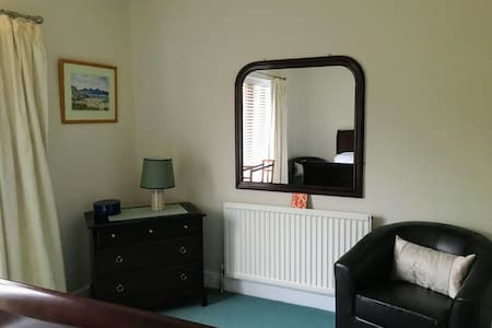 Double room in open plan cottage facing Ben Nevis