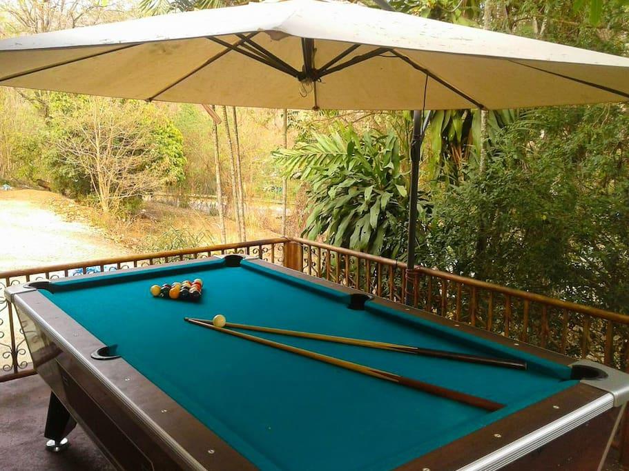 High quality pool table.