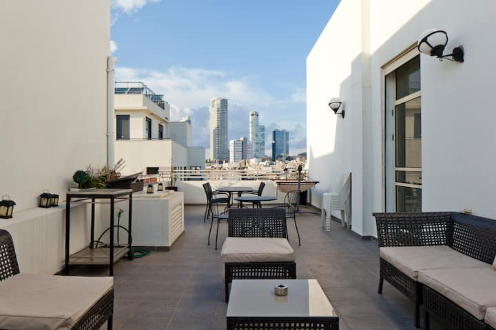 Nice Duplex penthouse + big rooftop
