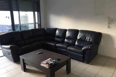 Grand appartement au cœur de la City idéal famille - Ashdod