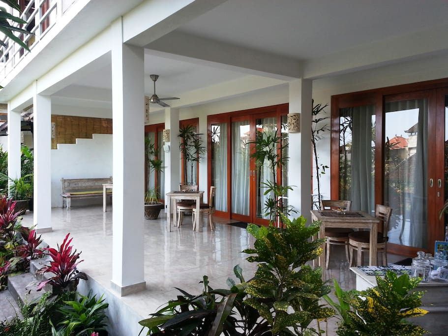 Rumah Jelita - a beautiful jewel in a beautiful garden in the heart of Ubud. Welcome! Let us help you make your stay in our town the best it can be.