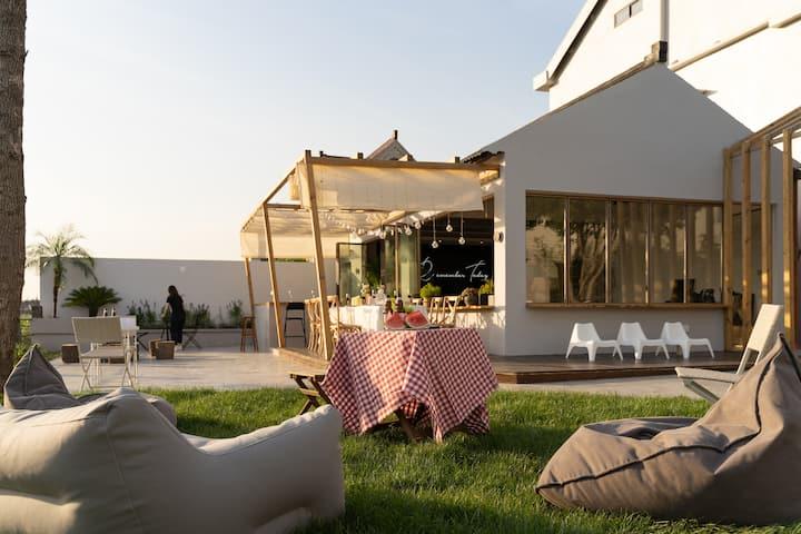 雀的花园 设计民宿 「惊鸿调 」 迪士尼度假区 | 泡浴|野餐|复式|家庭享|近2号线11号线地铁