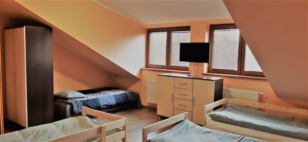 Pola Home Wroclaw Blue key room
