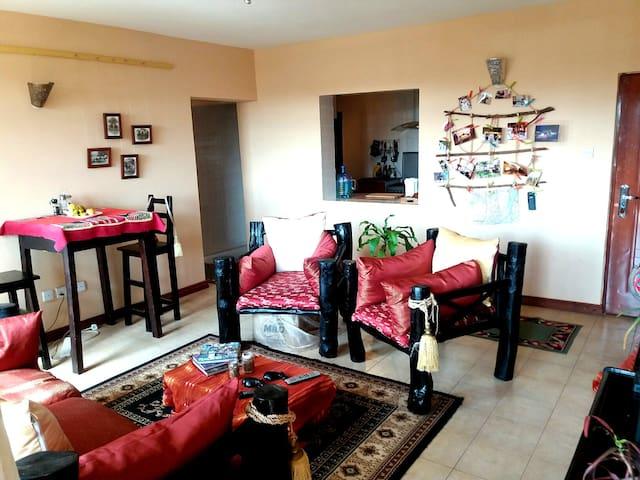 Room in 3 BR Apartment close to UN - Nairobi - Pis
