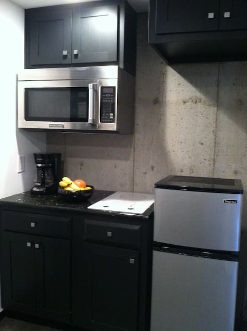 Complete cooking accommodations