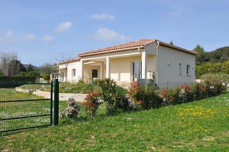 Un havre de paix au coeur des vignes - Saint-Bauzille-de-Montmel - Villa