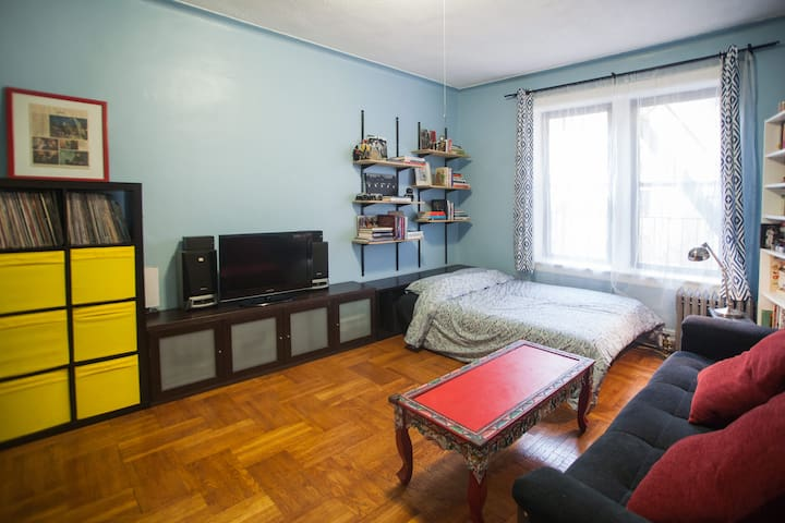 Large 1 bedroom apartment next to Prospect Park