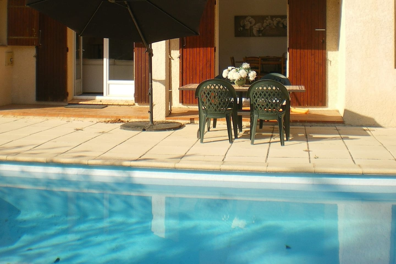 Festival d'Avignon avec piscine à 5mn du centre