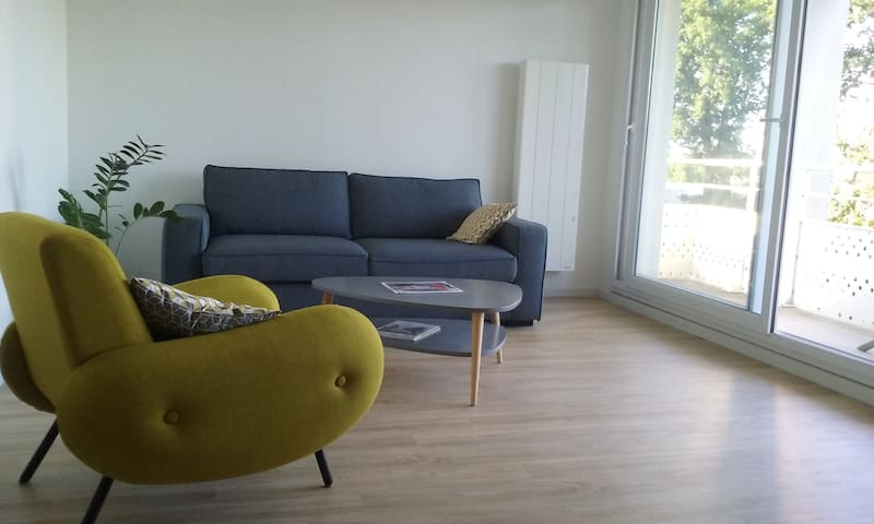 One bedroom appartement with balcony