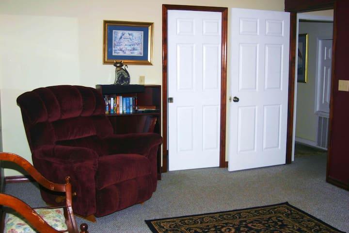 Master Bedroom Reading Corner