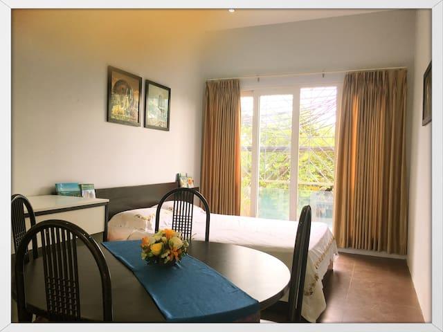 Spacious Bedroom with sunshine balcony in Hanoi