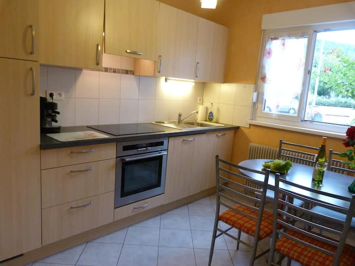 RENT FLAT ON QUIET AT MUNSTER, 22km from COLMAR